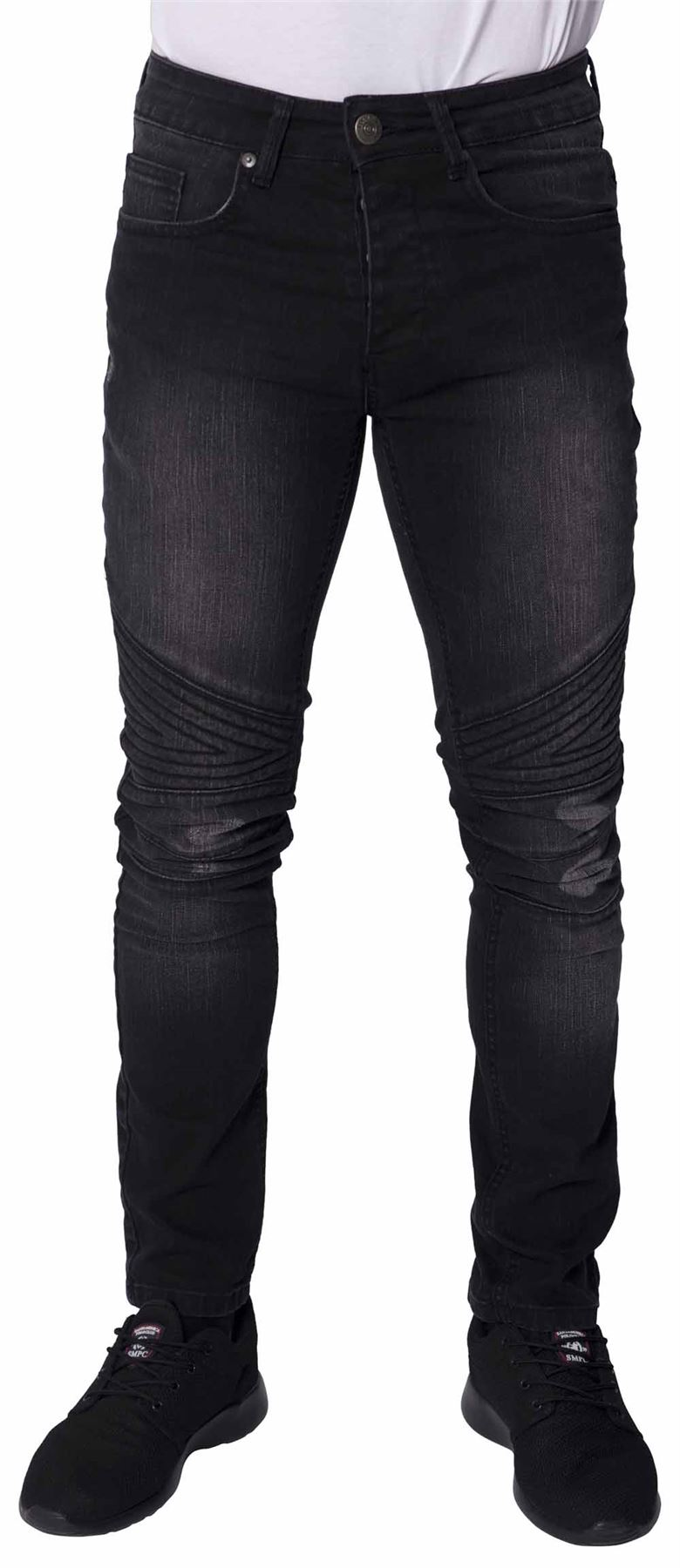 Ripped jeans black ebay