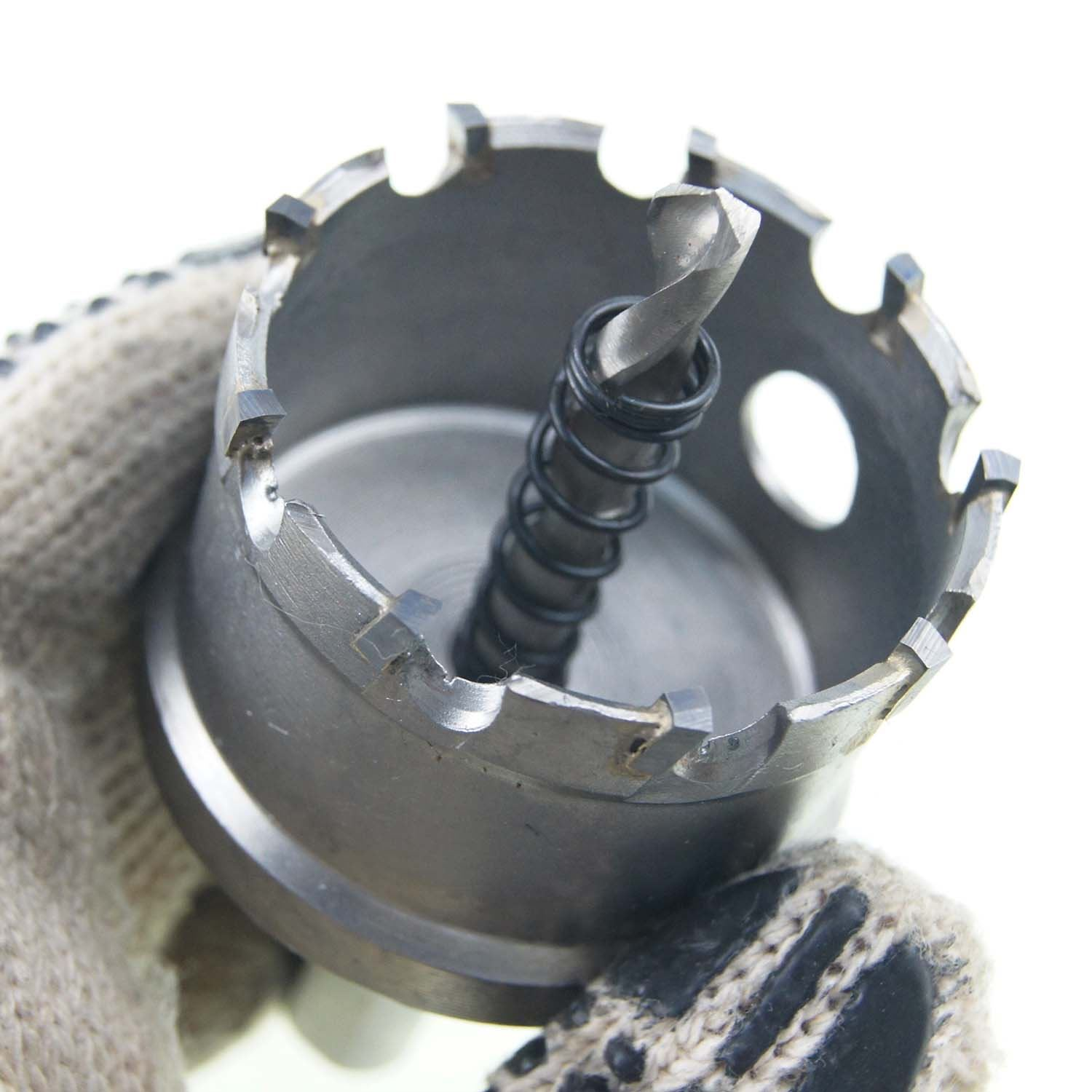 Hole Circle Round TCT Saw Stainless Steel Metal Wood Core Drill Bit 25 to 125mm