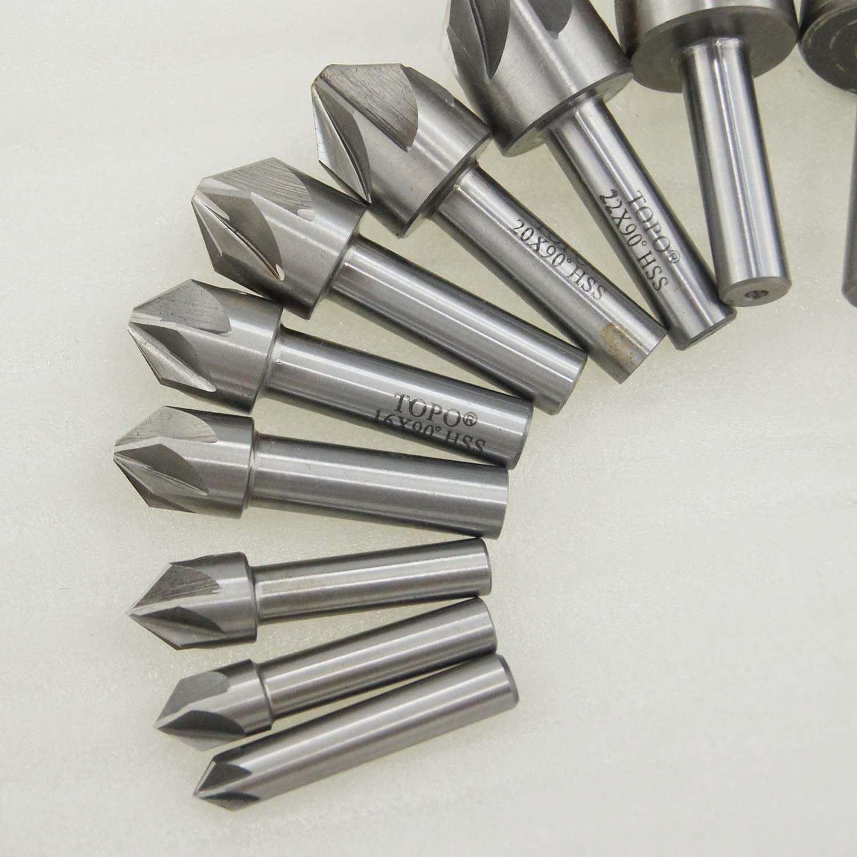 Alpen 23.0mm 90 Degrees HSS Cobalt Countersink Drill for Metal