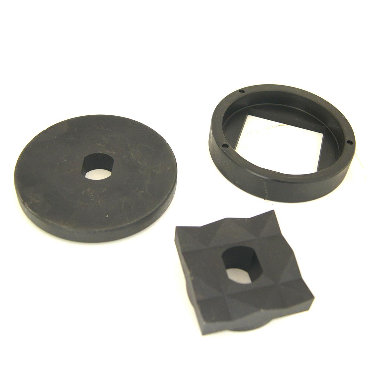Hydraulic Sheet Metal Punch Tool Knock Out Replacement Dies Square /& Round