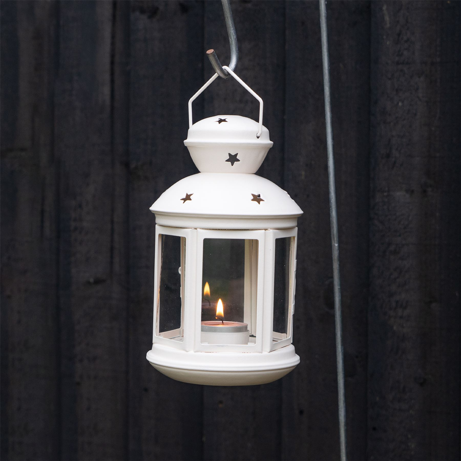 Metal-Candle-Lanterns-Tealight-Holders-Vintage-French-Moroccan-Style-20cm-x2 thumbnail 16