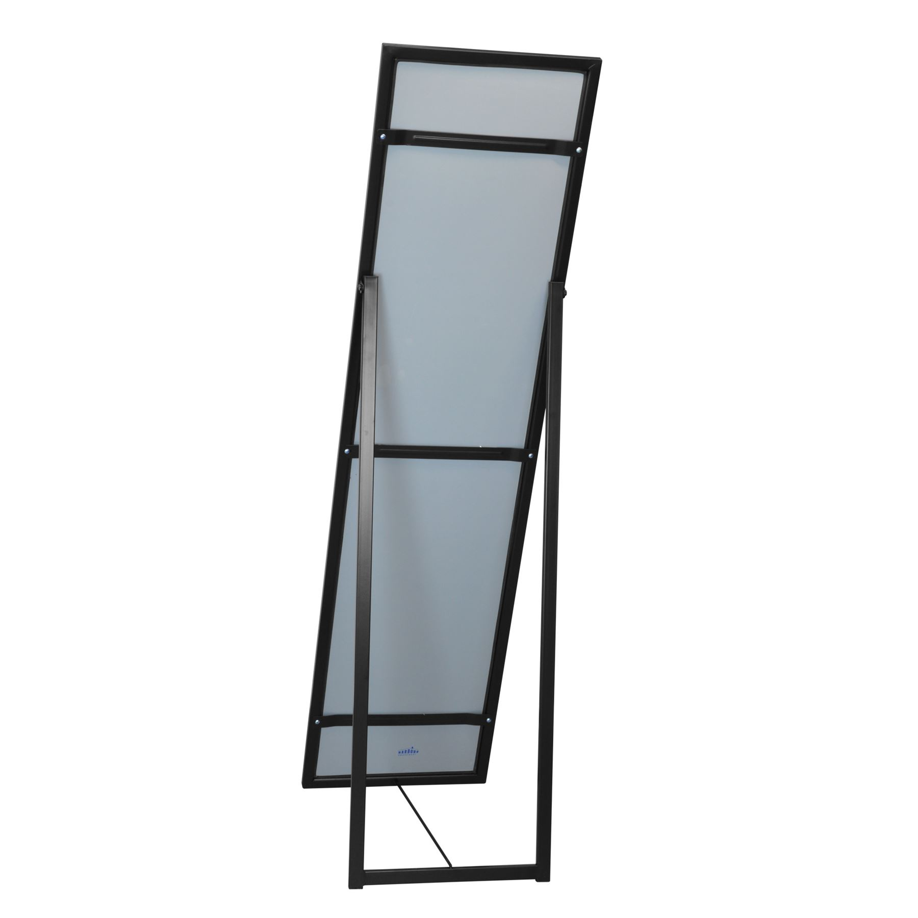 Free standing full length tilting dressing floor bedroom for Full length mirror black frame
