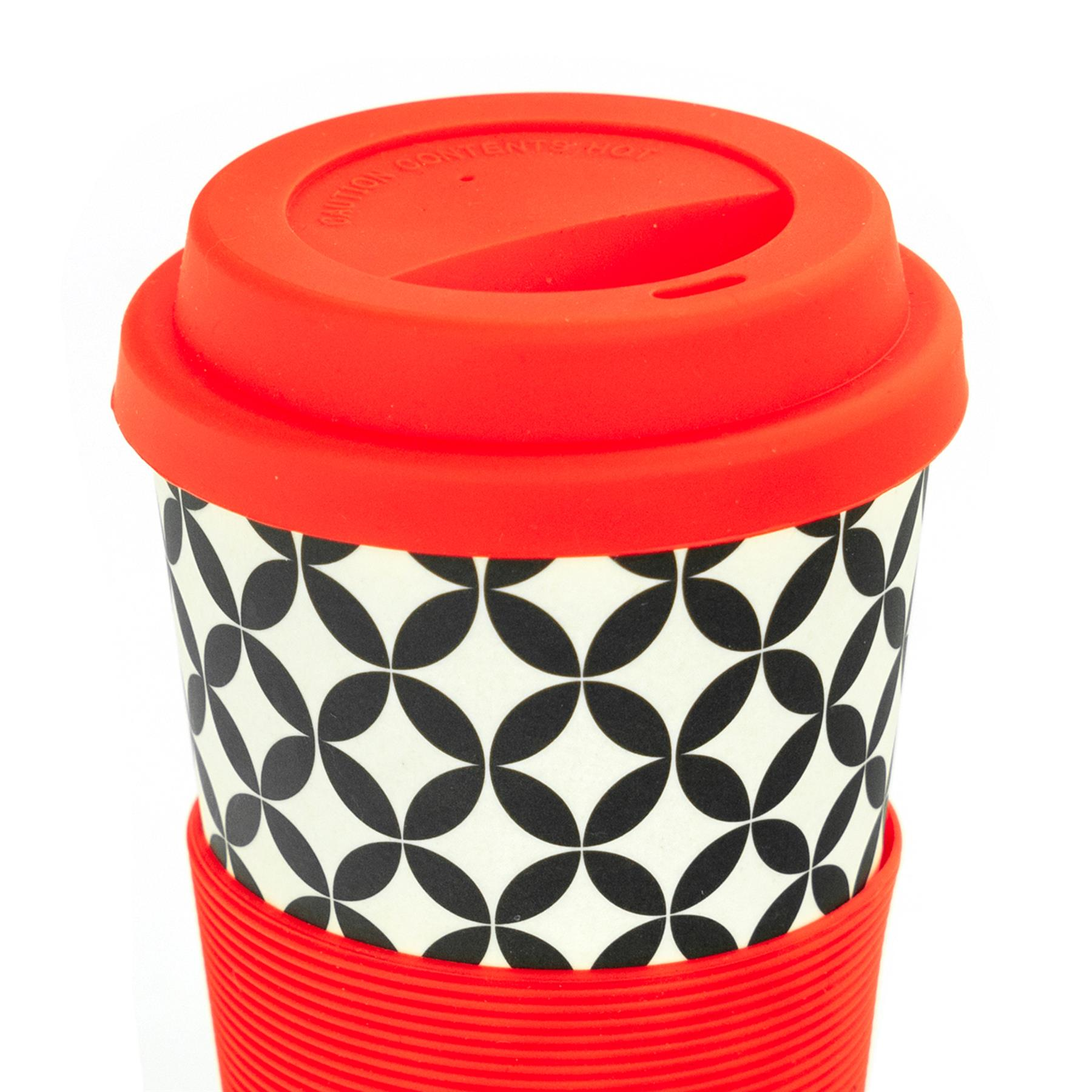 Reutilizable Taza De Café Taza de viaje Eco Friendly fibra de bambú 400ml-Conjunto de 3