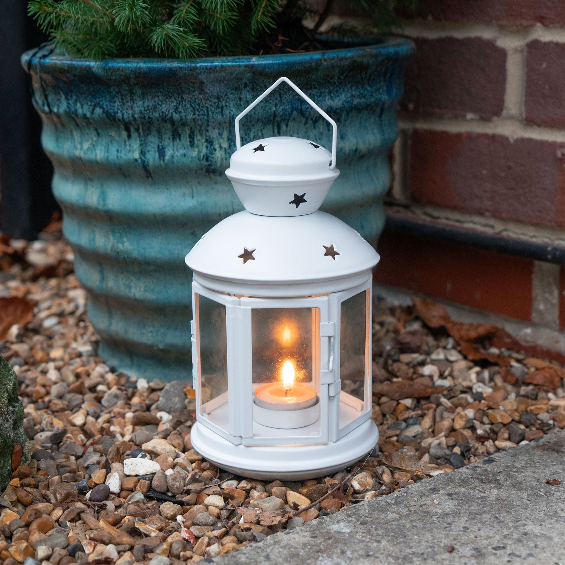 Metal-Candle-Lanterns-Tealight-Holders-Vintage-French-Moroccan-Style-20cm-x2 thumbnail 25