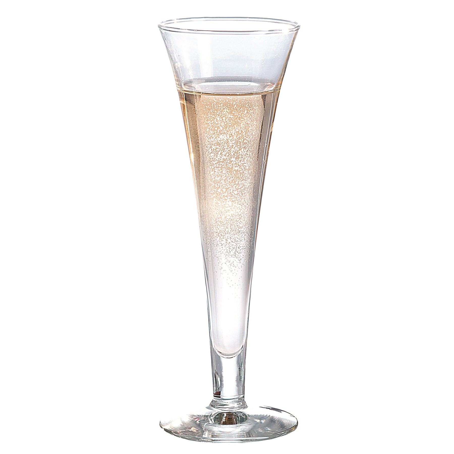 07acab94812 Details about 6x Champagne Glasses Modern Glass Flutes Prosecco Sparkling  Wine Stemless 160ml