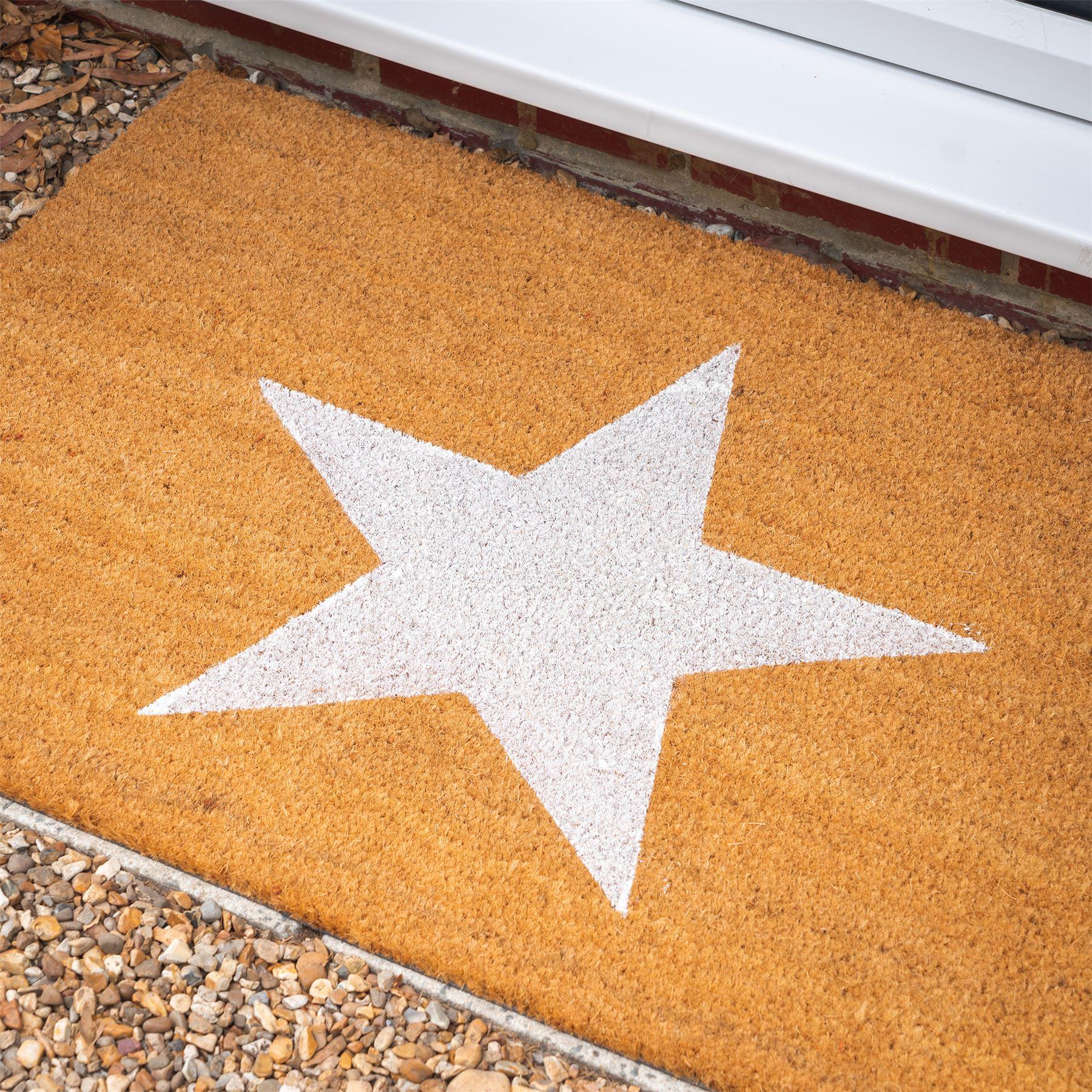 Door Mat Doormats Non Slip Natural Coir Welcome Indoor