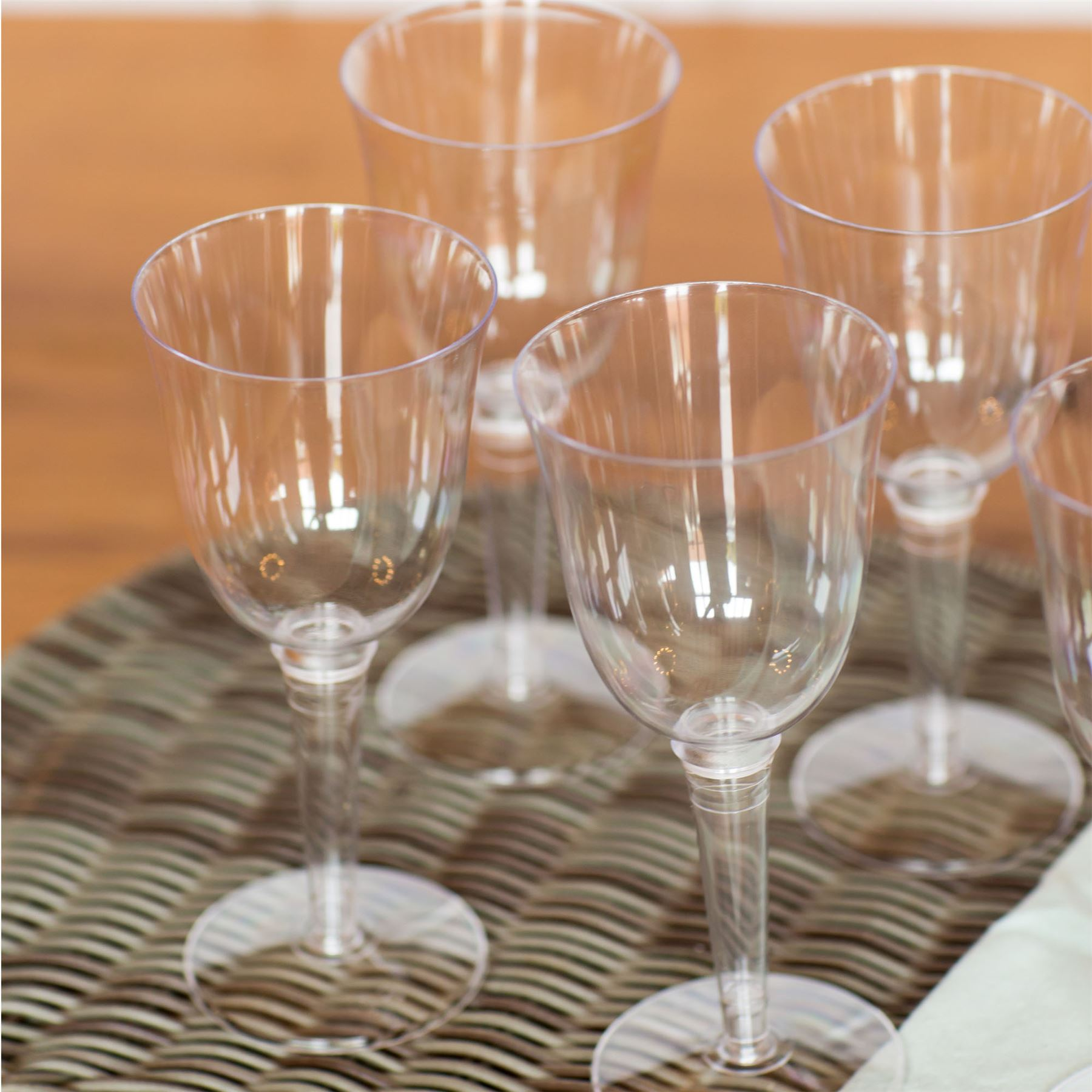 Plastic outdoor red white wine glasses strong drinking for How strong is acrylic glass