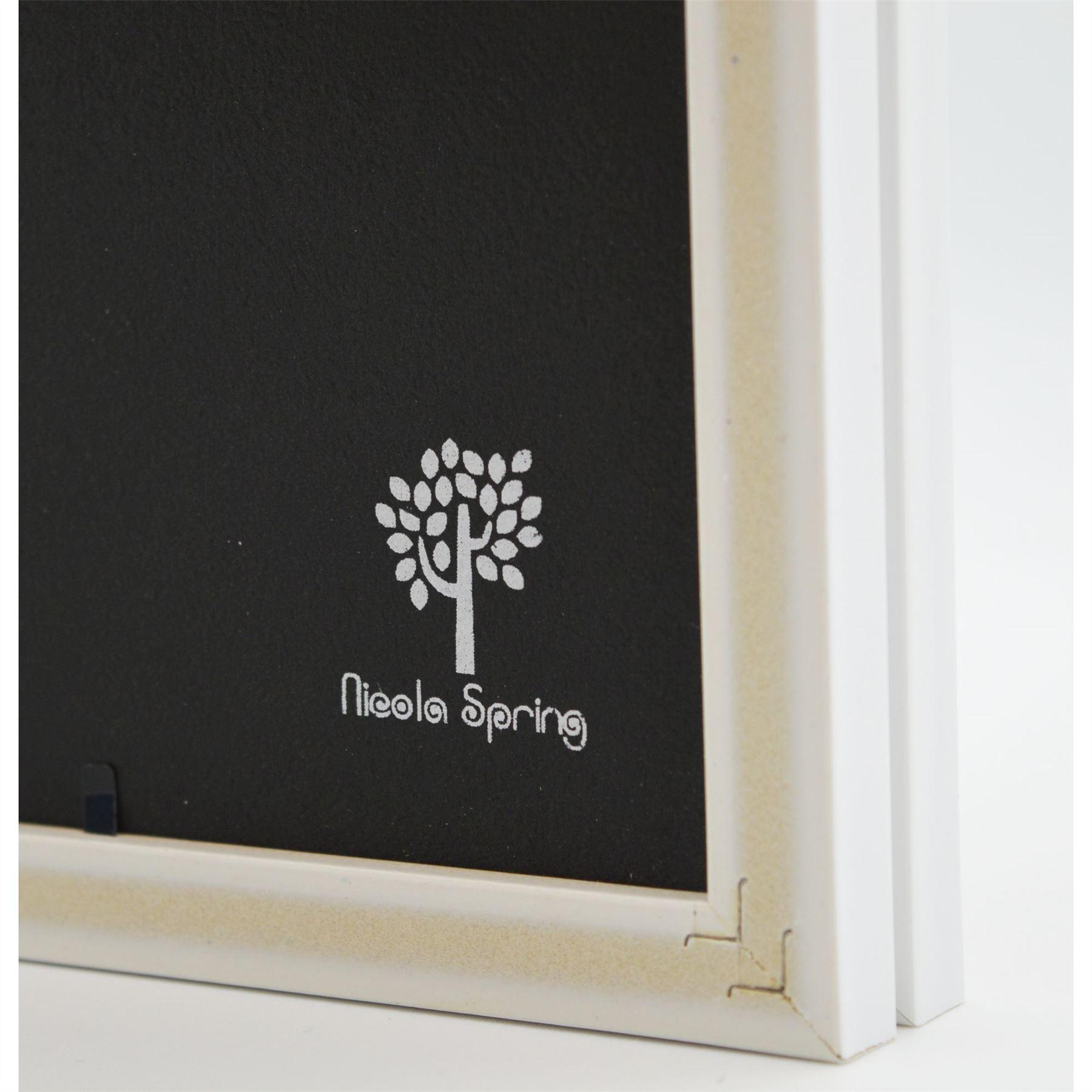 Marco plegable 5x7 Doble Fotos en Blanco - Pack de 2 | eBay