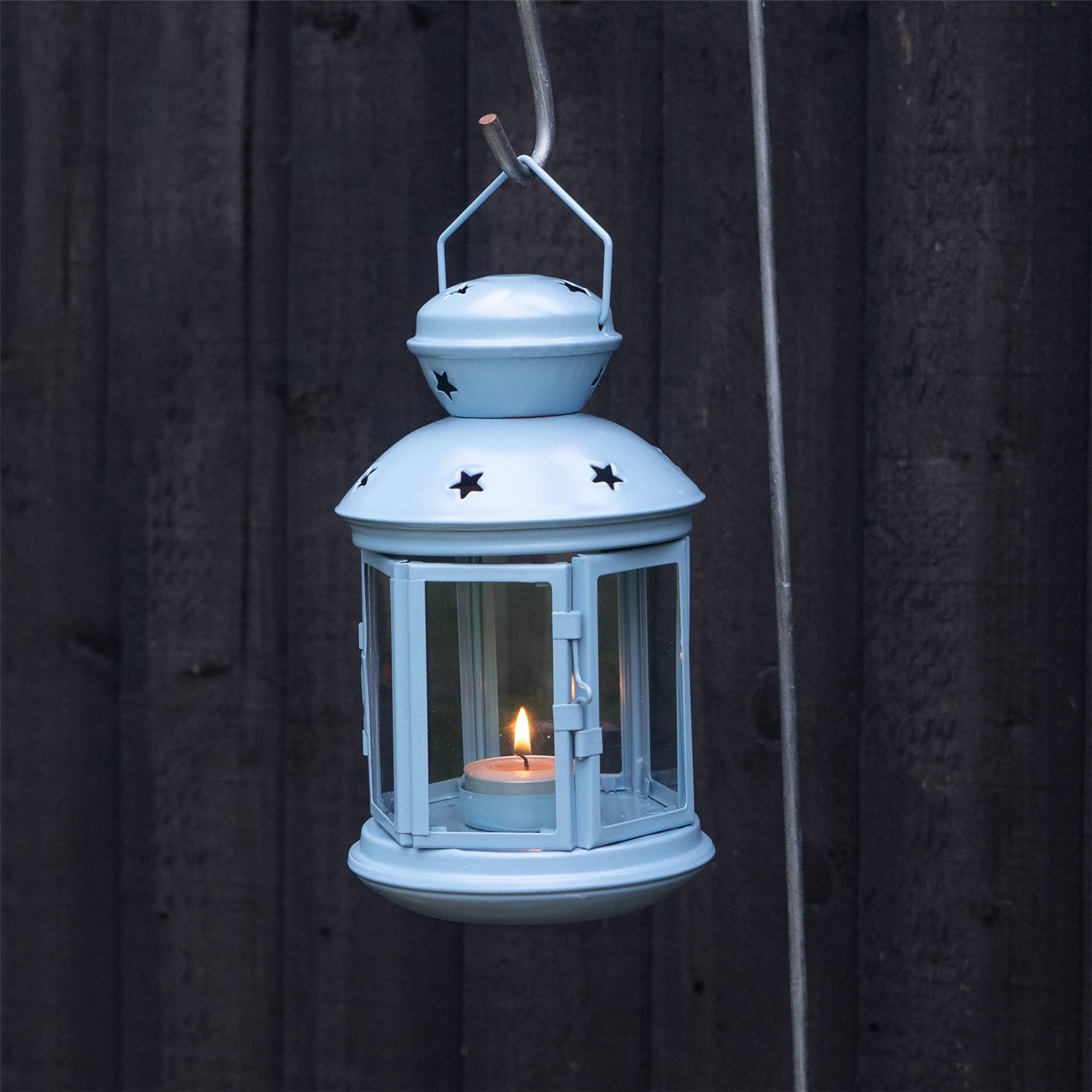 Metal-Candle-Lanterns-Tealight-Holders-Vintage-French-Moroccan-Style-20cm-x2 thumbnail 10