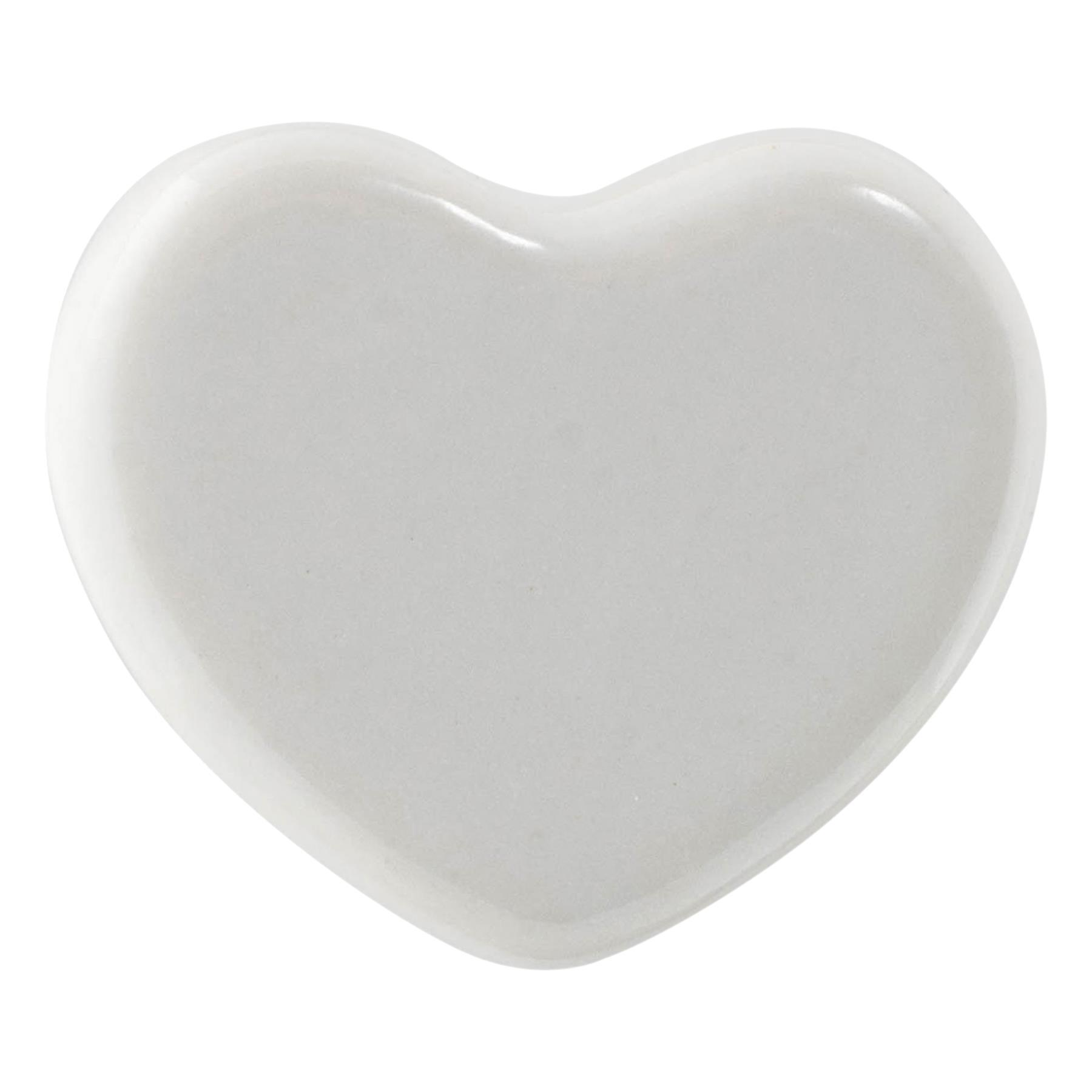 Polka Hearts on Ceramic Door Knobs Cupboard Drawer Door Handles by G Decor