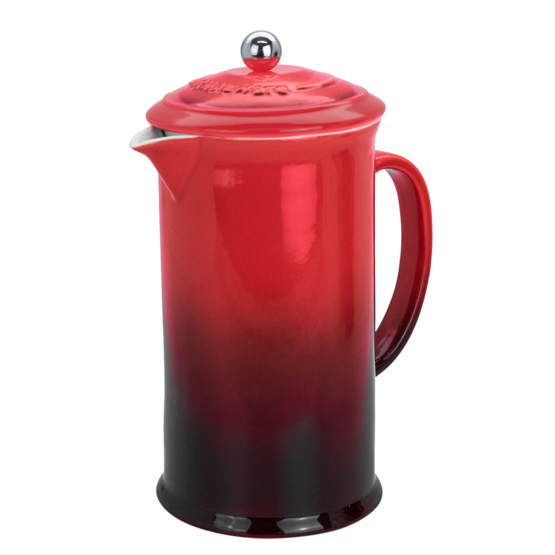 8baec9529569 Coffee Cafetiere Coffee Press French Press - 1 Litre   3 Cup - Red ...
