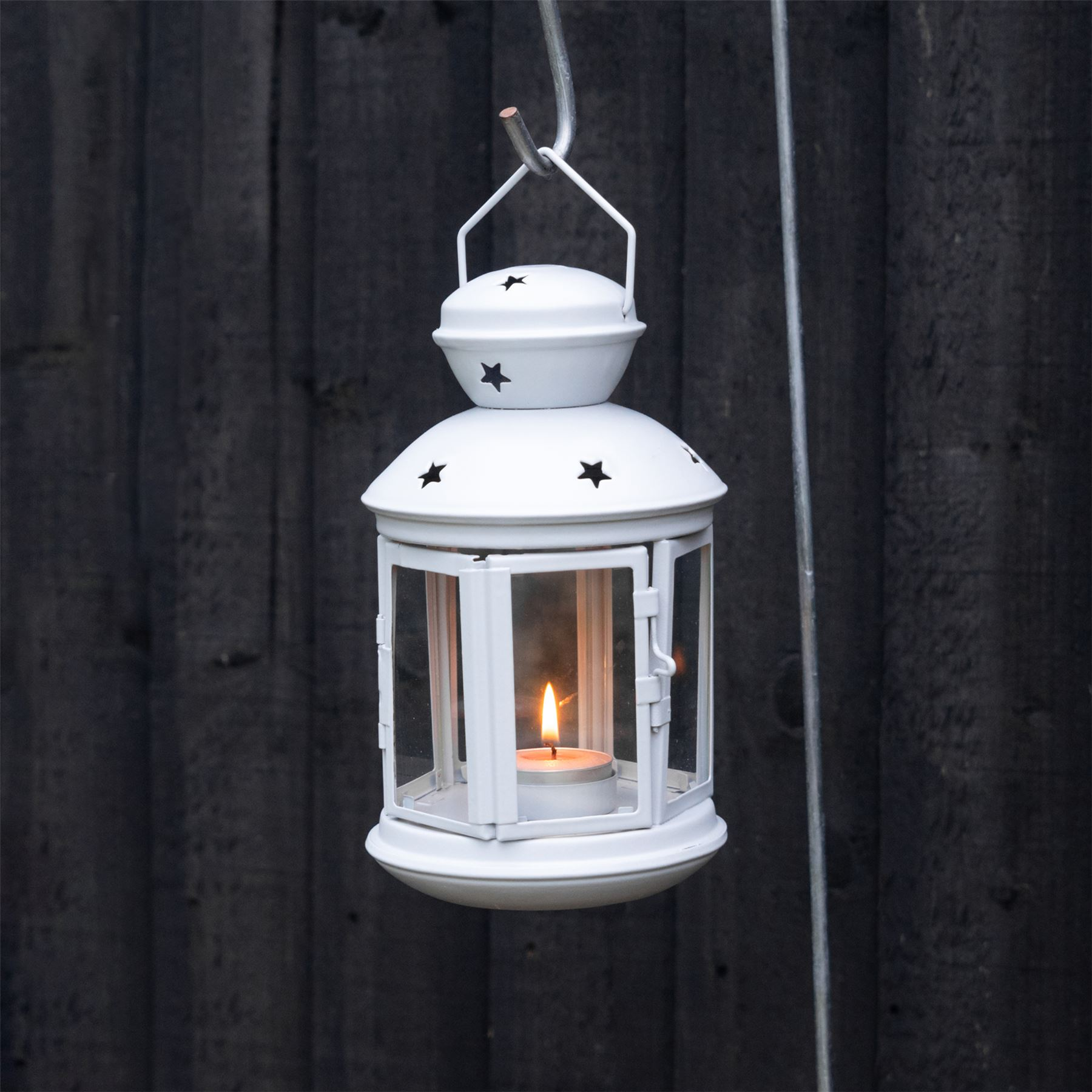 Metal-Candle-Lanterns-Tealight-Holders-Vintage-French-Moroccan-Style-20cm-x2 thumbnail 21