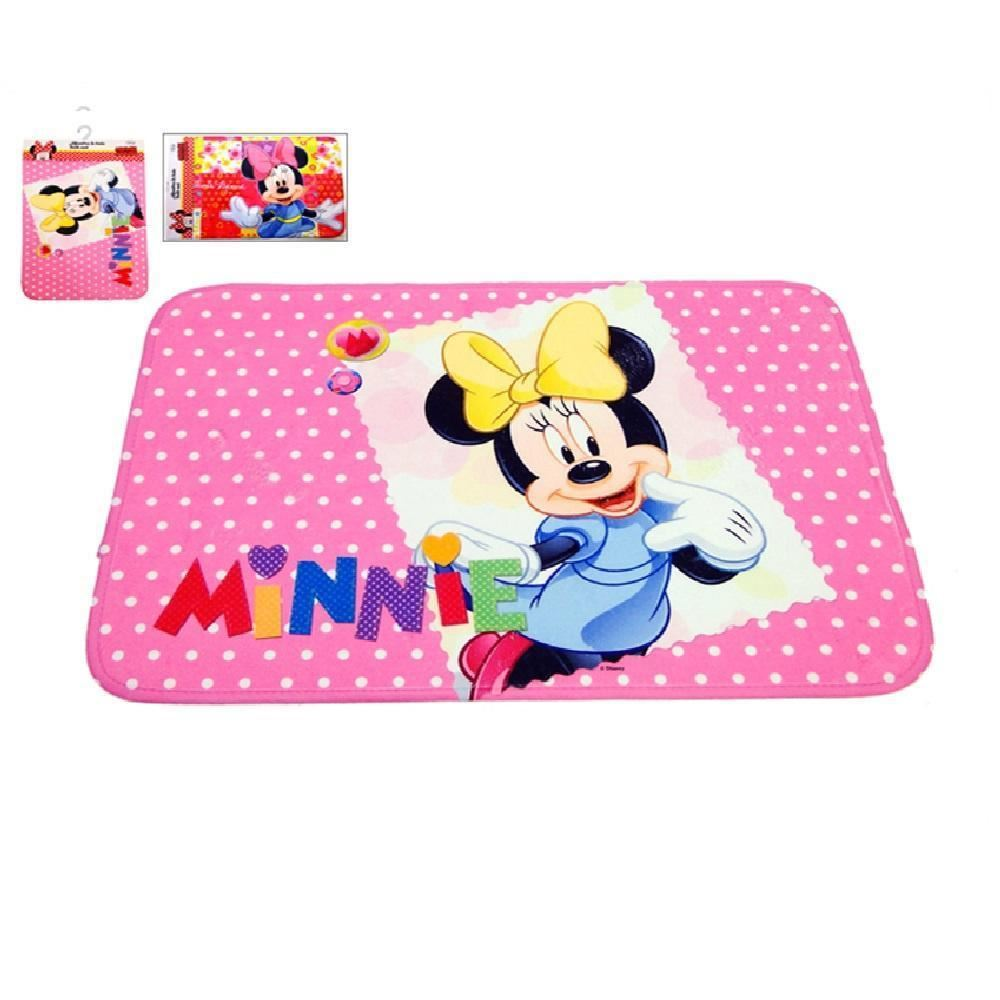 New Rectangular Cartoon Character Print Bathroom Mat Bath