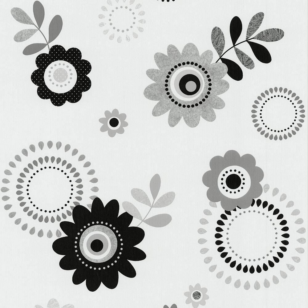 Estampado flores hippie