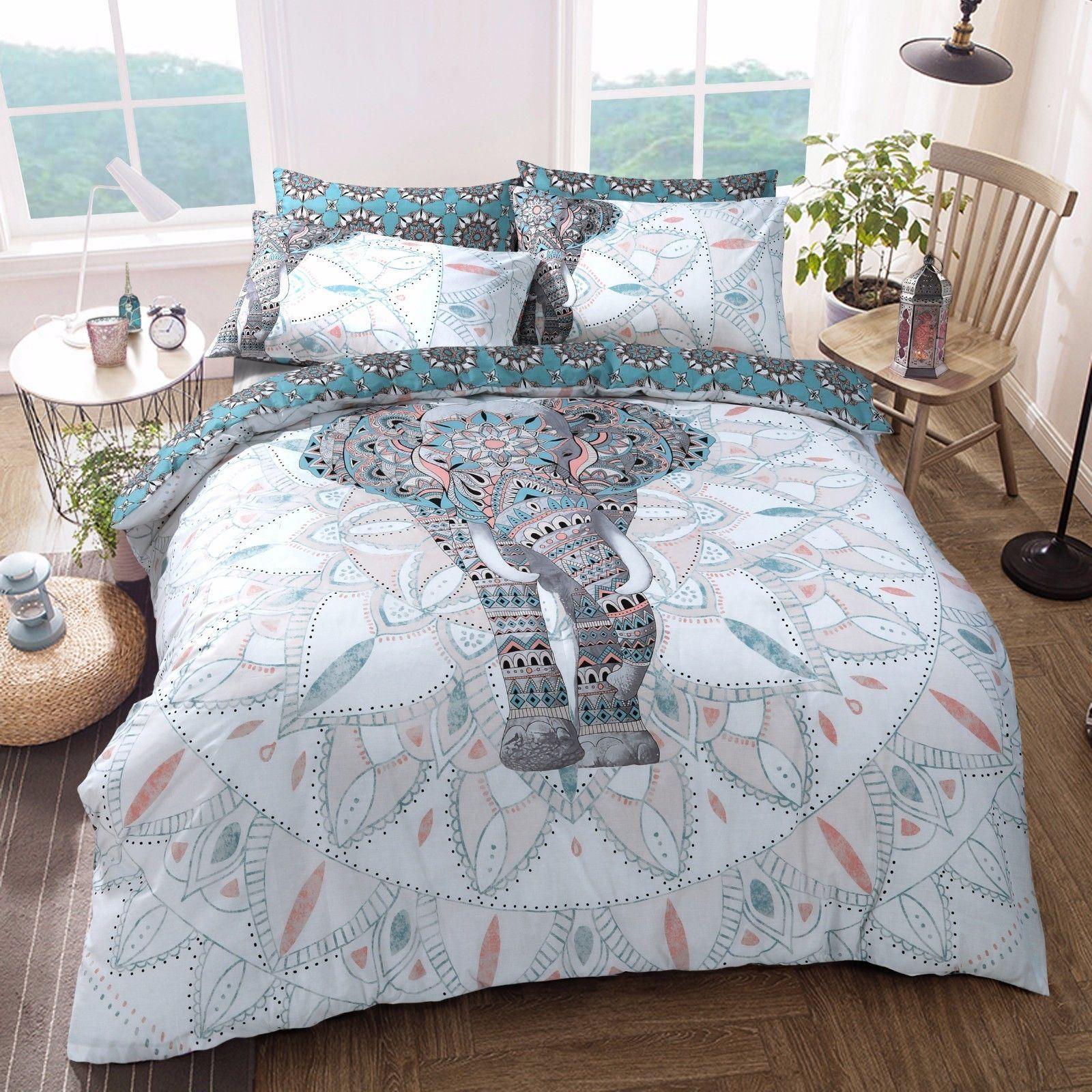 Animal Design Duvet Set Quilt Cover Pillowcase Bedding