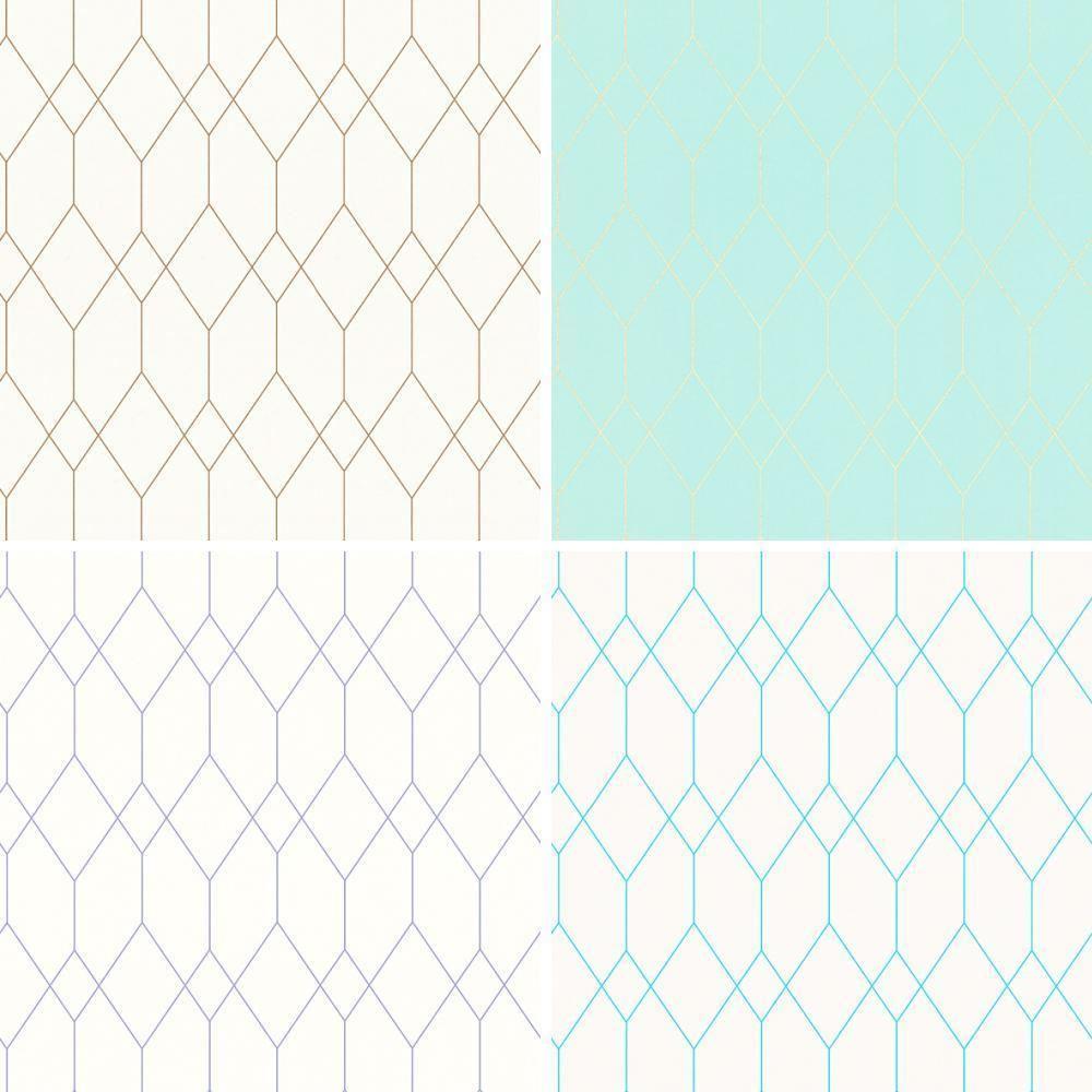 Esprit Art Deco Com details about as creation esprit designer wallpaper diamond pattern art  deco geometric motif