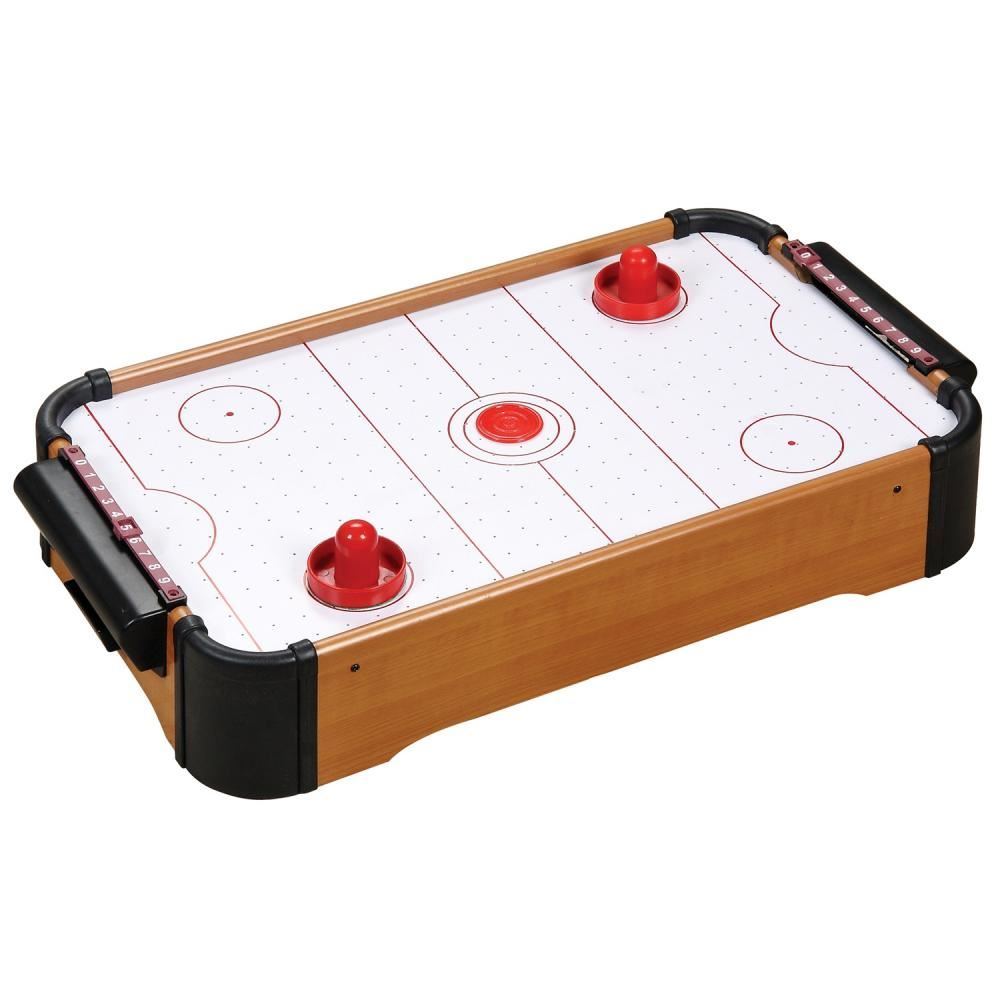 BABY MINI WOODEN TABLE TOP GAME FOOTBALL AIR
