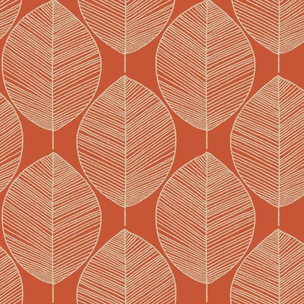 New Arthouse Opera Retro Leaf Pattern Leaves Motif