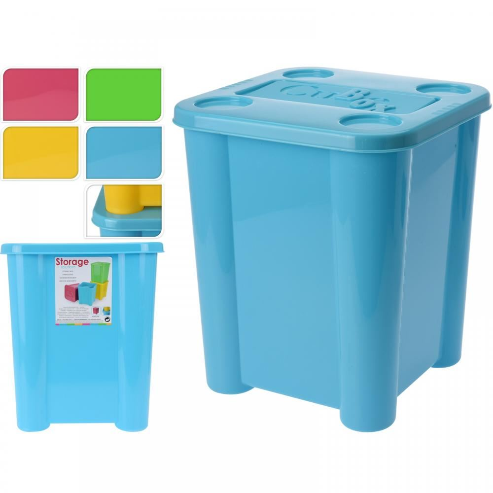 Princess Toys Box Storage Kids Girls Chest Bedroom Clothes: Plastic Kids Childrens Clothes Toy Storage Box Tub Room
