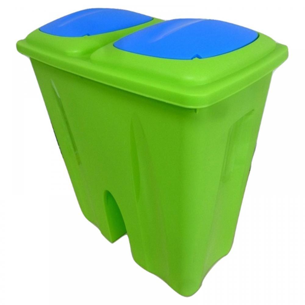 Recycling Mülleimer 50l doppel recycling mülleimer duo müll karton plastik verfügung