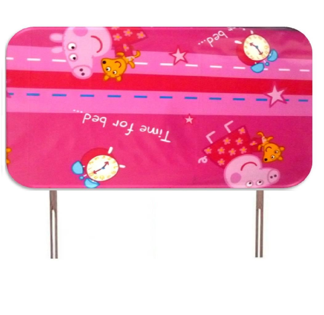 Disney Character Childrens Single Bed Headboard Set