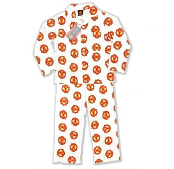 Manchester United Garçons Enfants-Teenage Football Pyjamas Pyjama Set