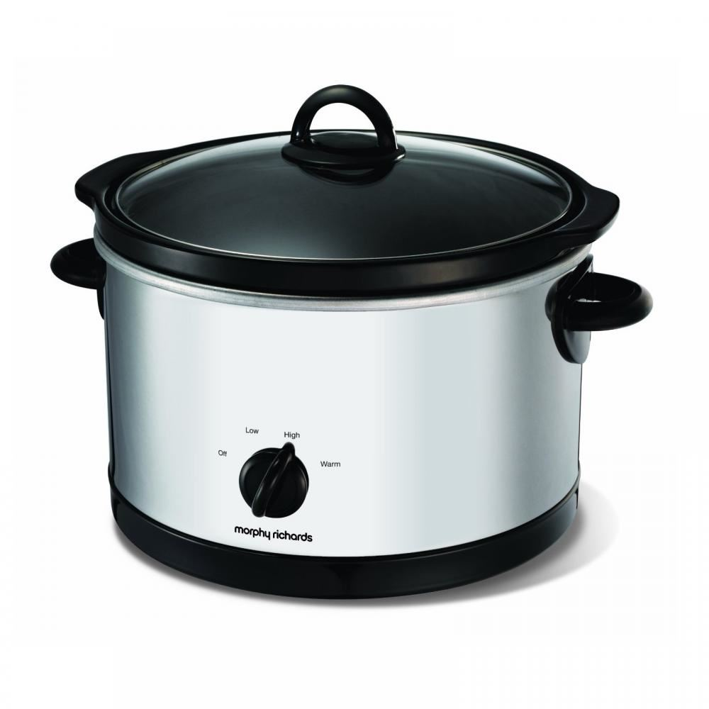 Morphy Richards 6 Litre Electric Round Stainless Steel Slow Cooker Pot 48697 5011832039323 Ebay • do not use attachments or tools not. details about morphy richards 6 litre electric round stainless steel slow cooker pot 48697