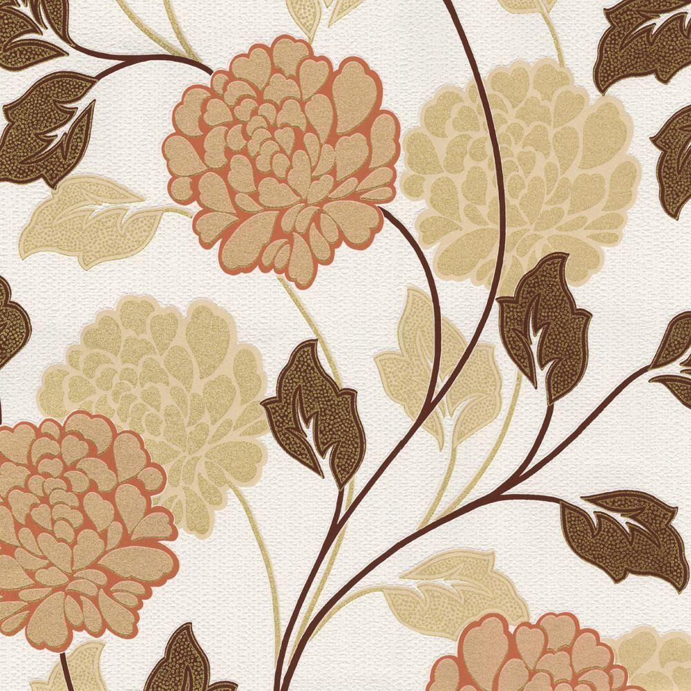 new belgravia dahlia flower pattern floral motif textured. Black Bedroom Furniture Sets. Home Design Ideas
