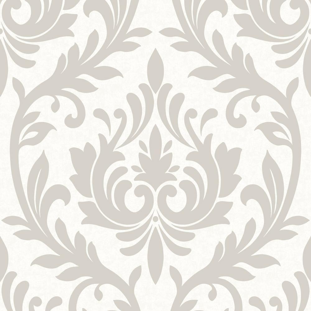 luxury damask design wallpaper modern floral pattern feature wall