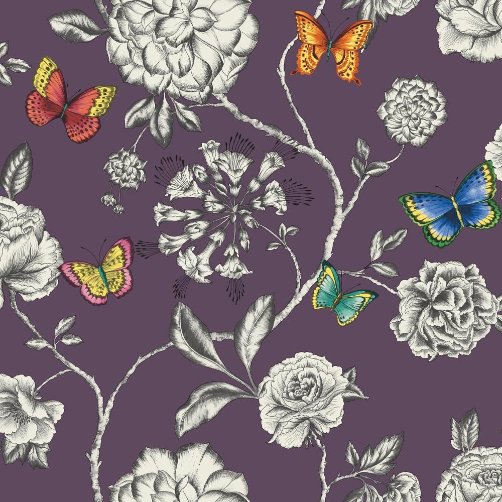 NEW HOLDEN DÉCOR KEILENA FLORAL PATTERN BUTTERFLY ROSE
