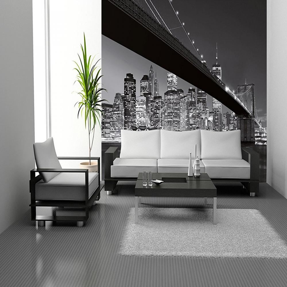 Elegant W+G Wall Mural Brooklyn Bridge New York Photo Poster Wallpaper Decor  366x254cm Part 32