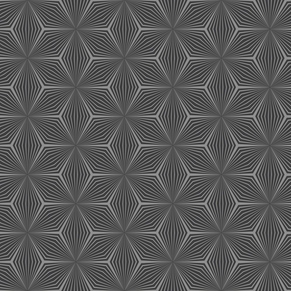 Geometric star Papier peint Or//Taupe-HOLDEN DECOR 12619 métallique NEUF