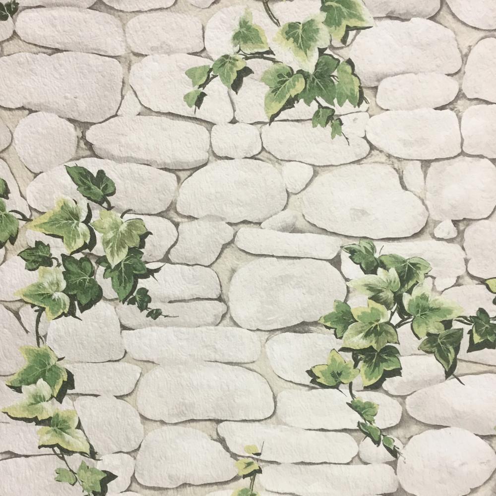 Details About Erismann Stone Wall Pattern Wallpaper Ivy Motif Realistic Effect Textured 7519 2