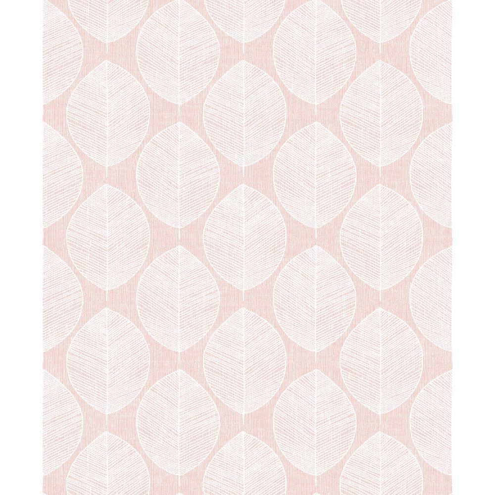 Motif Foliage Leaf Skeleton Arthouse Scandi Leaf Grey Wallpaper 908203