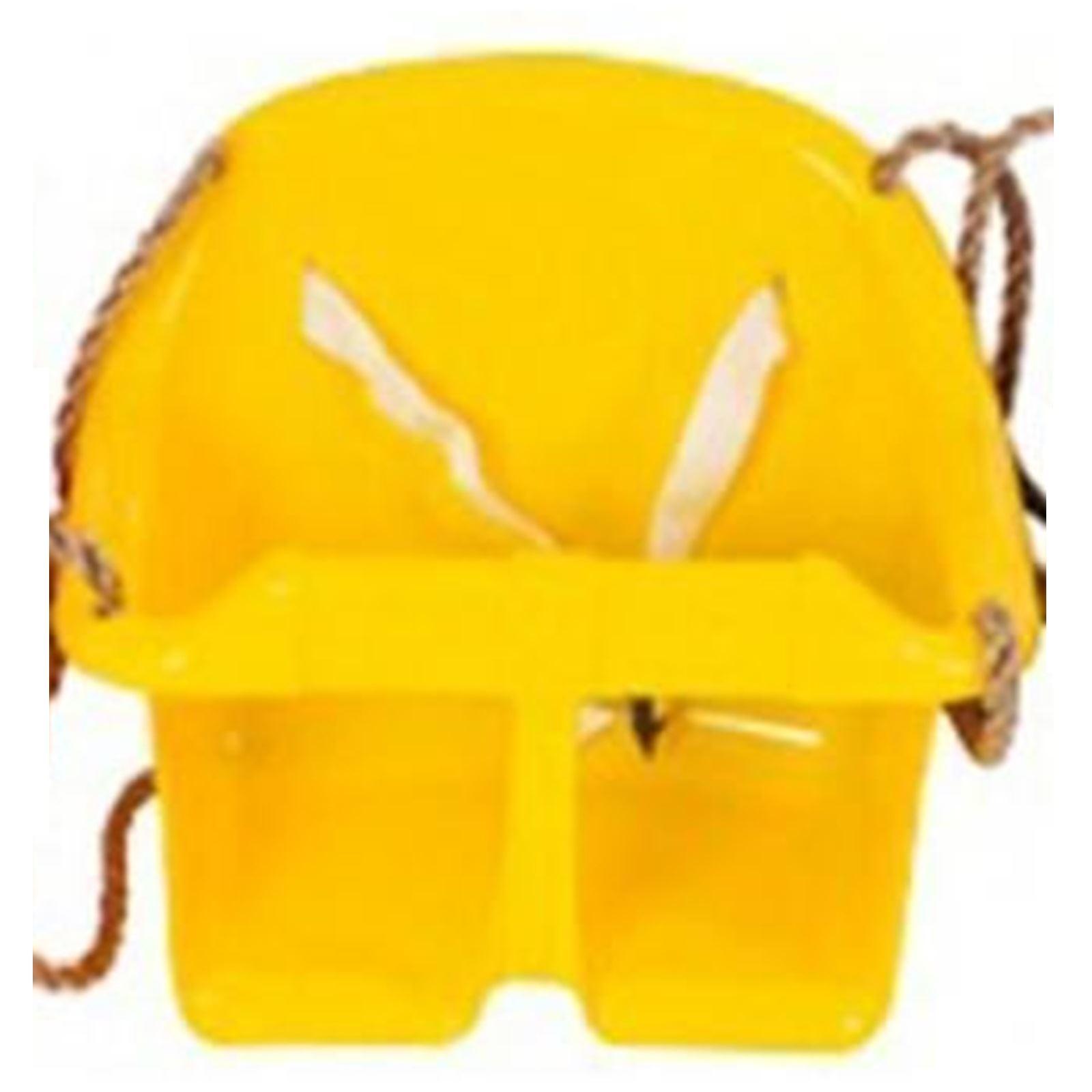Jaune Sohler par Eurotrade W 2002451/Childs Plastique balan/çoire pour Enfant r/églable de Jardin /à Suspendre Seau de s/écurit/é de Chaise