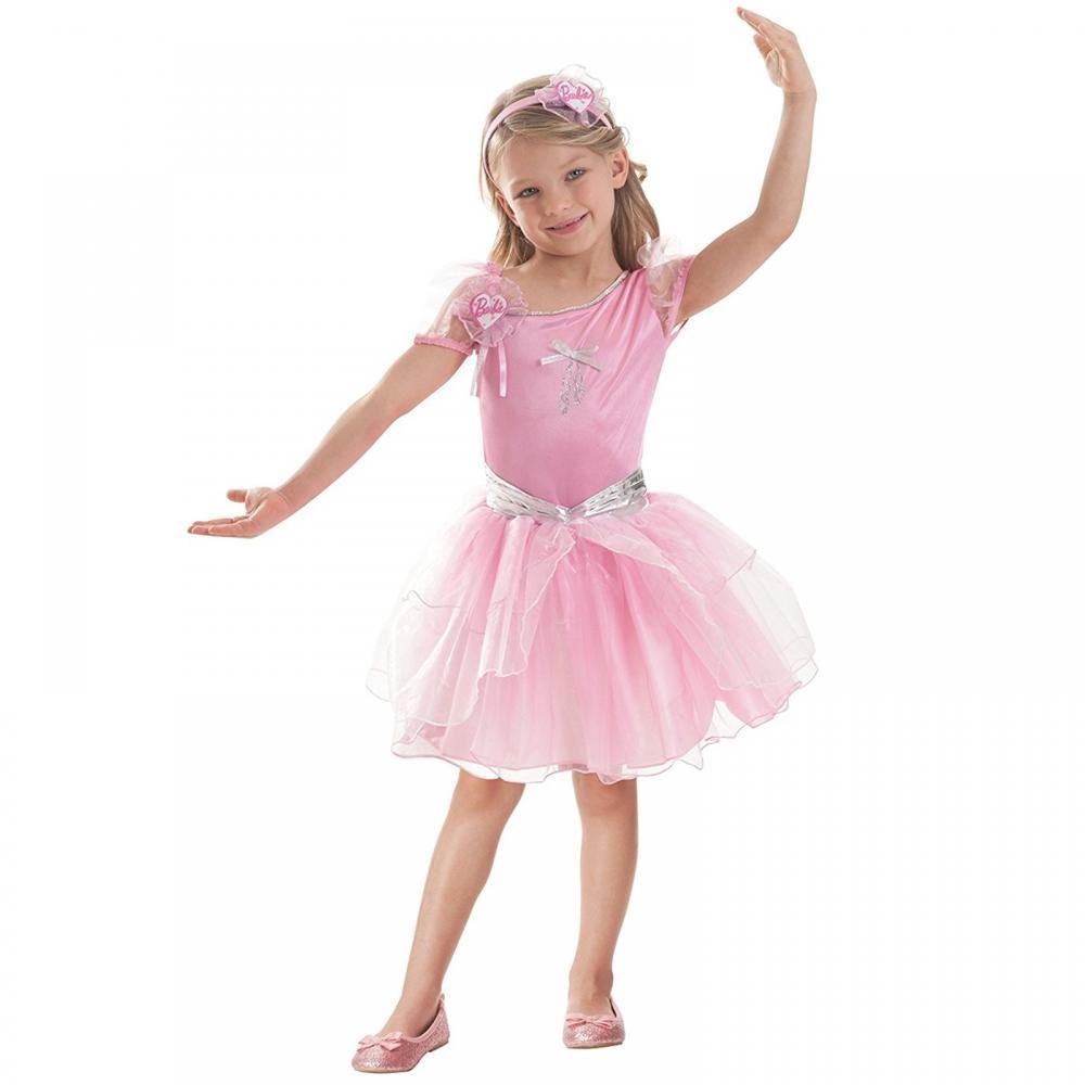 Amscan Barbie Doll Ballerina Girls Fancy Dress Up Costume