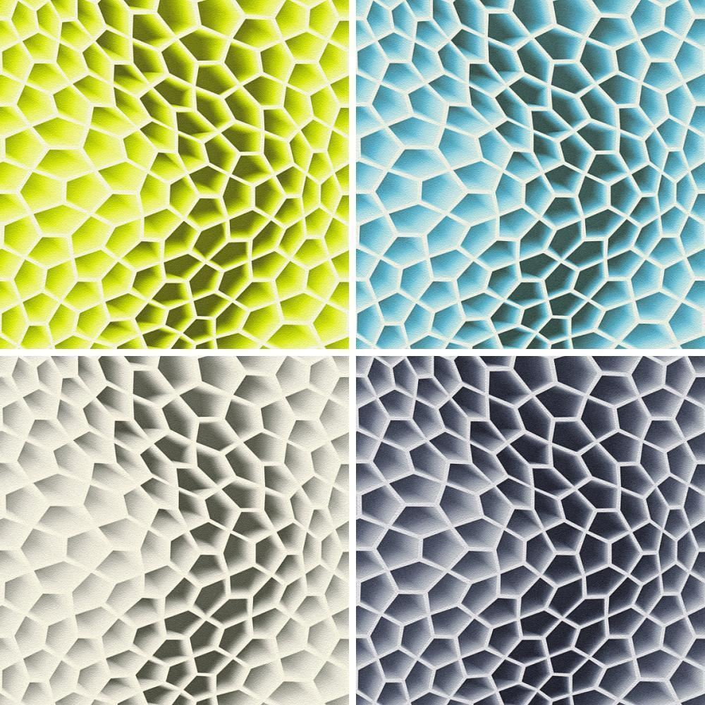 AS Creation Geometric Honeycomb Pattern Wallpaper Abstract