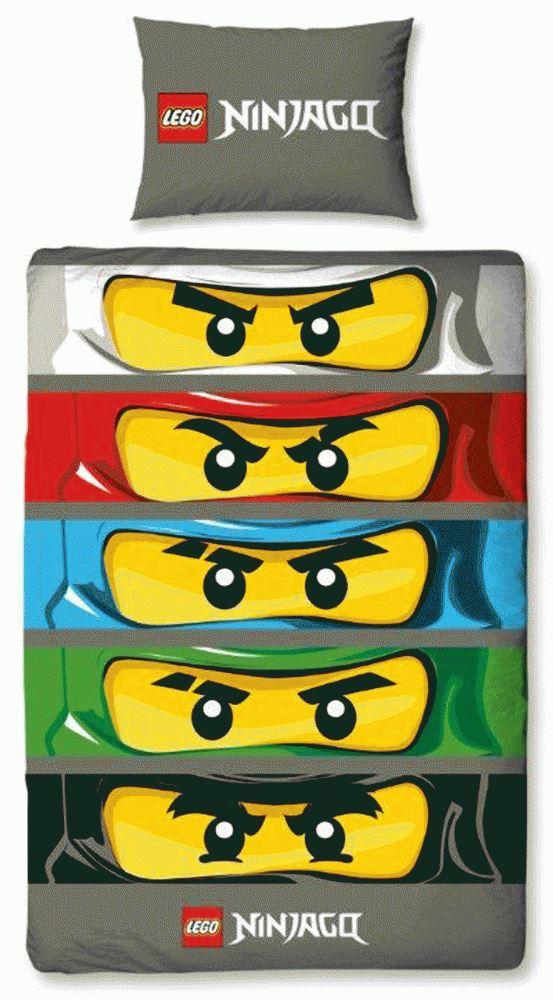 neu lego ninjago sen einzelbett decke wende kinder bettdecke bettw schegarnitur ebay. Black Bedroom Furniture Sets. Home Design Ideas