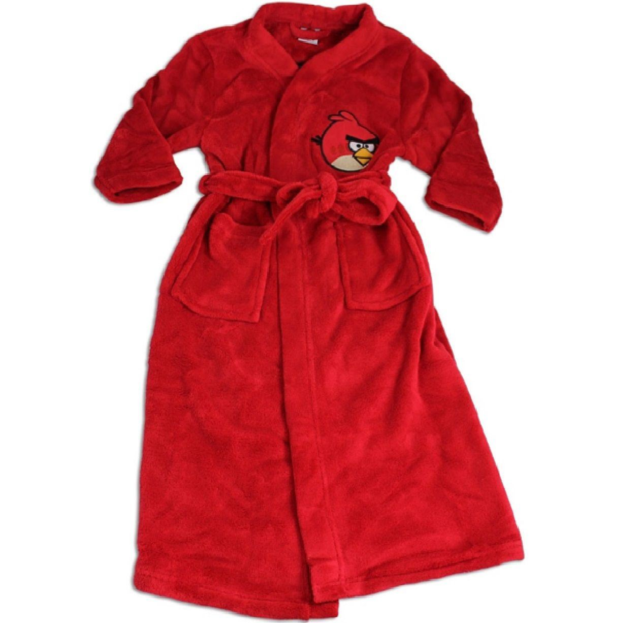 ANGRY BIRDS GAME CHILDRENS KIDS BOYS GIRLS DRESSING GOWN FLEECE ...