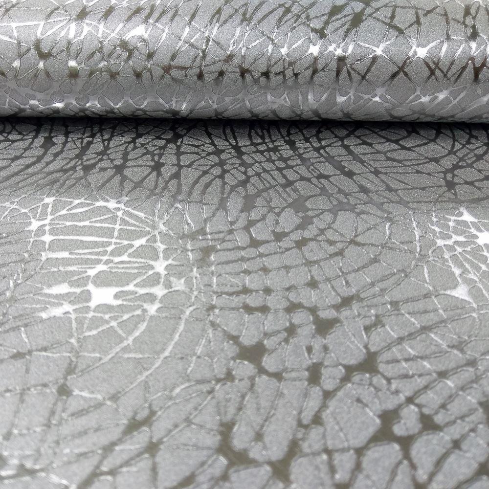 Arthouse foil swirl pattern wallpaper geometric textured for Foil wallpaper uk