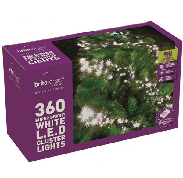 Super Bright Festive Led Cluster Lights Christmas Tree
