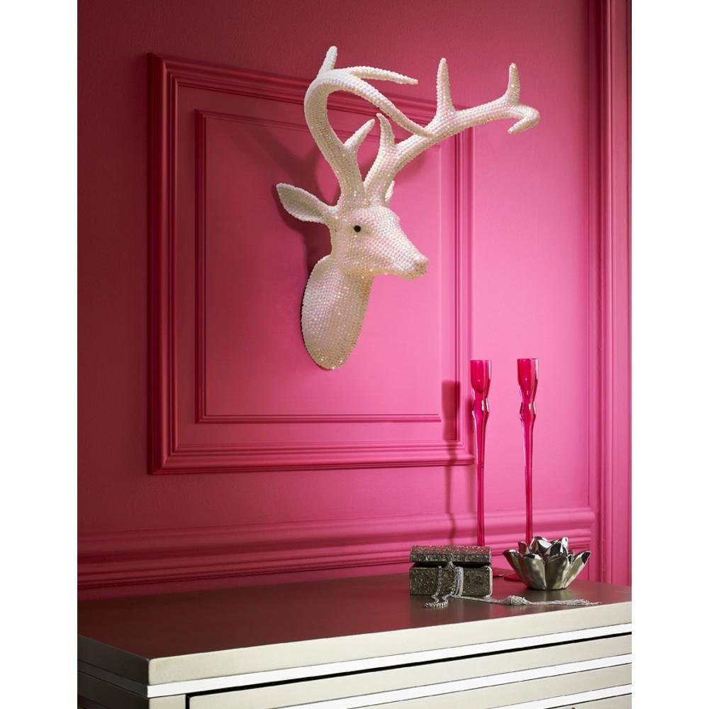 neuf arthouse star clout t te de cerf r sine diamant montable d coration murale ebay. Black Bedroom Furniture Sets. Home Design Ideas