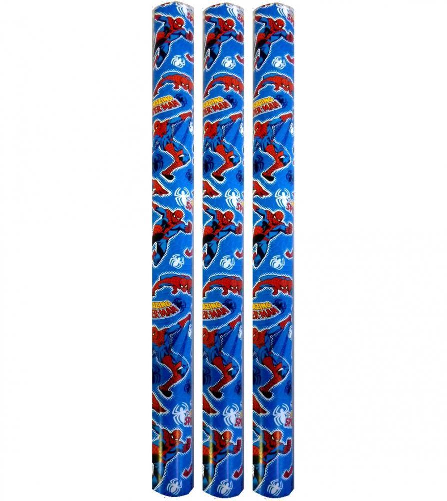 3x5m Marvel Comics Spiderman Birthday Present Wrapping