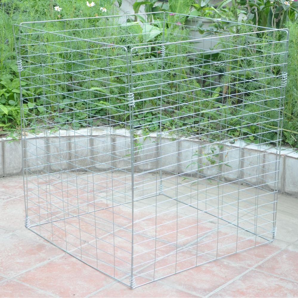 Metal Wire Mesh Compost Bin Garden Composter Converter Eco Recycling ...