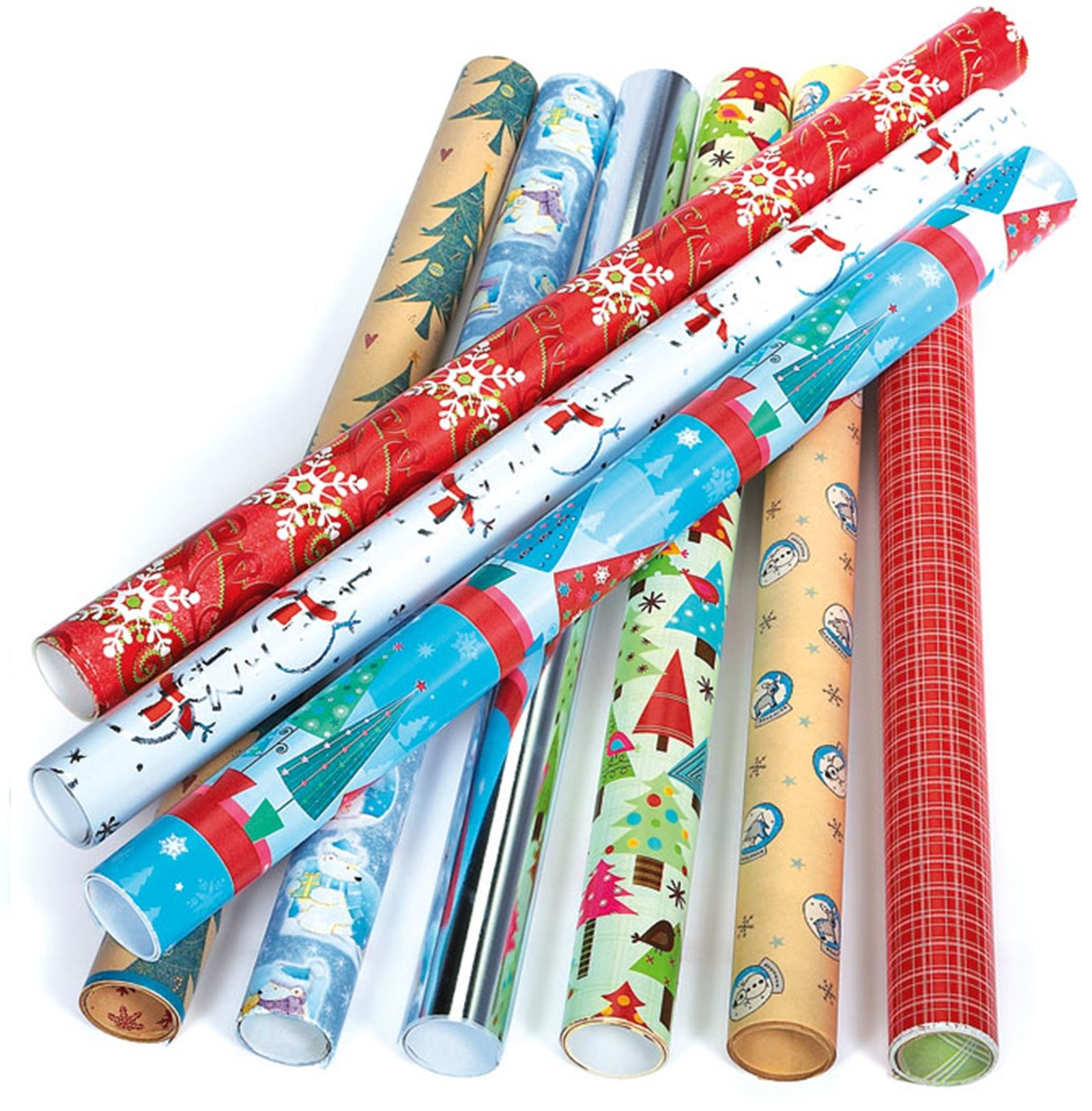 12 Luxe étiquettes-Cadeaux Arbre de Noël Cadeau de Noël Emballage Cadeau Divers Designs