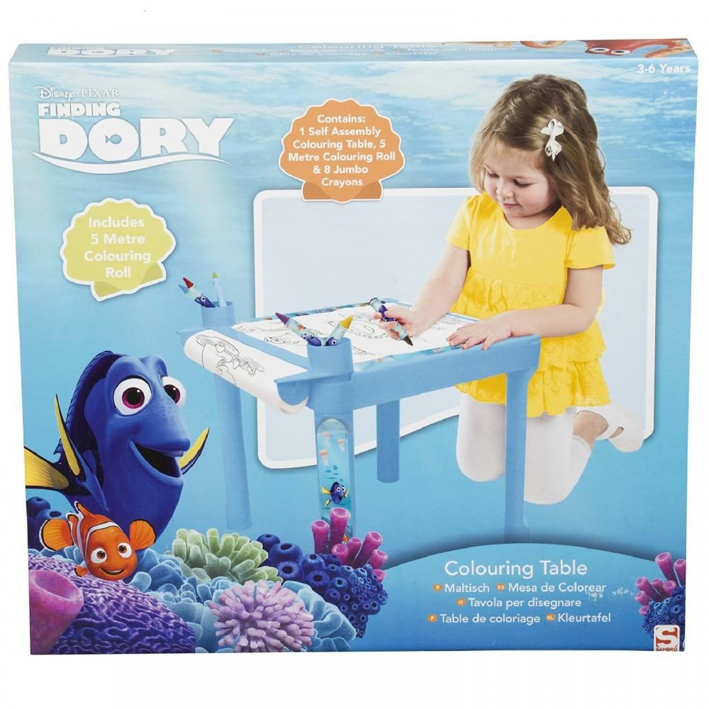 Disney Finding Dory Activity Drawing Table Colouring Desk Kids