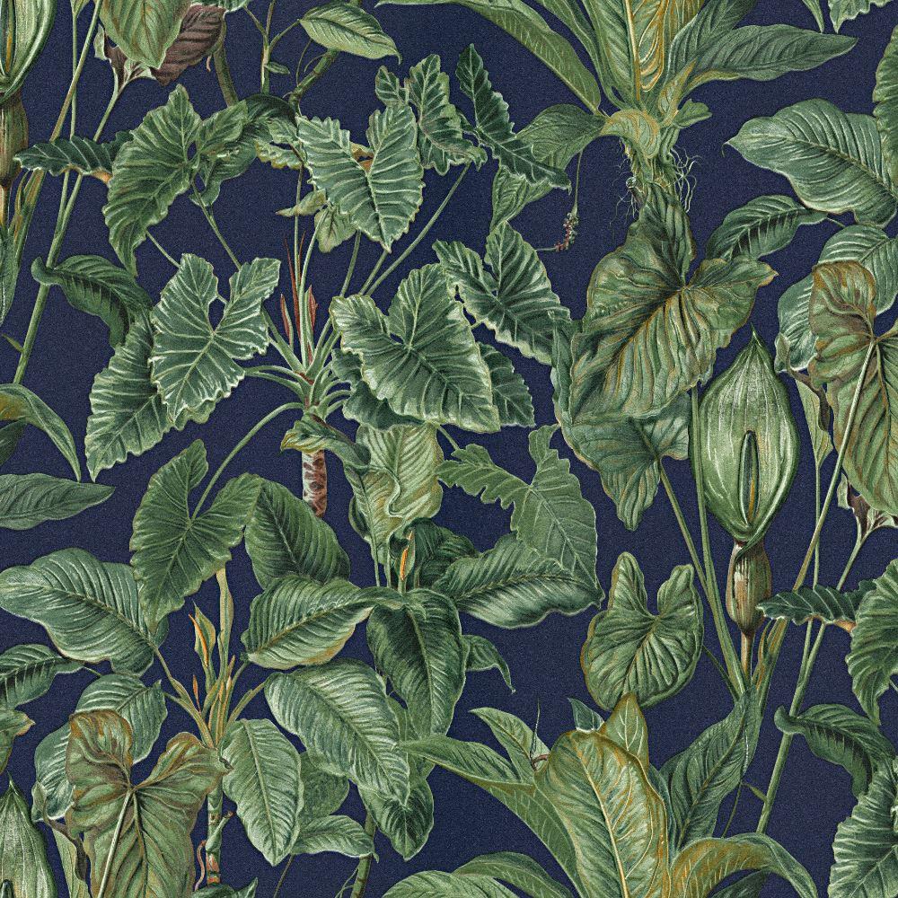 erismann paradiso tropical leaves pattern wallpaper jungle leaf