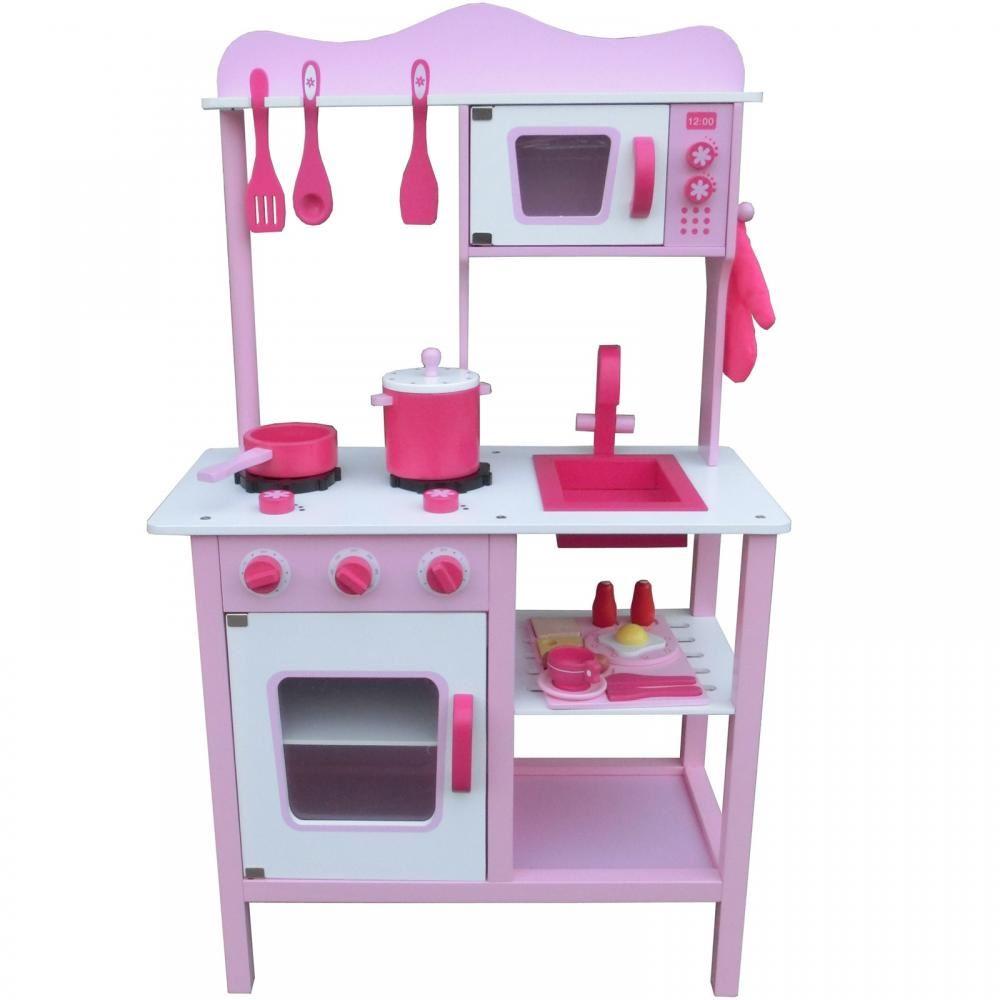 Cocinita De Madera Juguete Para Ninos Cocina De Imitacion Infantil