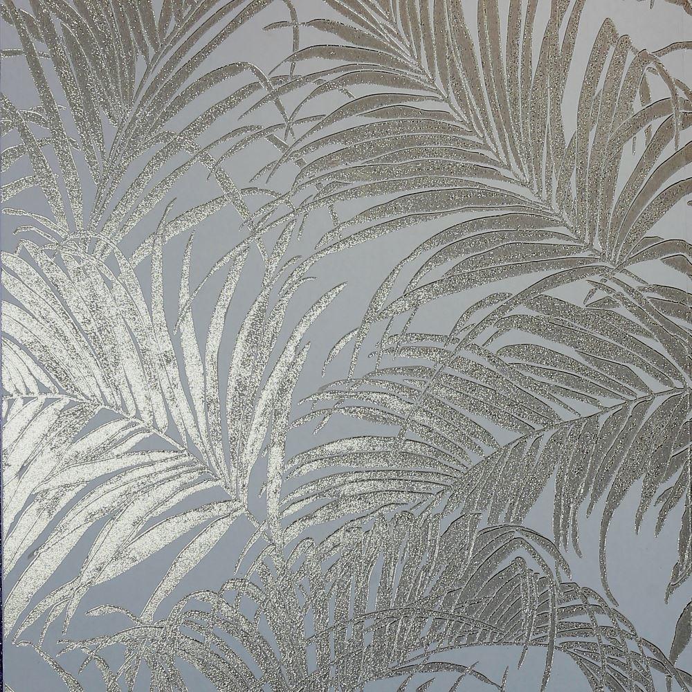 Arthouse Palm Pattern Metallic Shimmer Foil Leaf Effect Luxury Wallpaper 903202