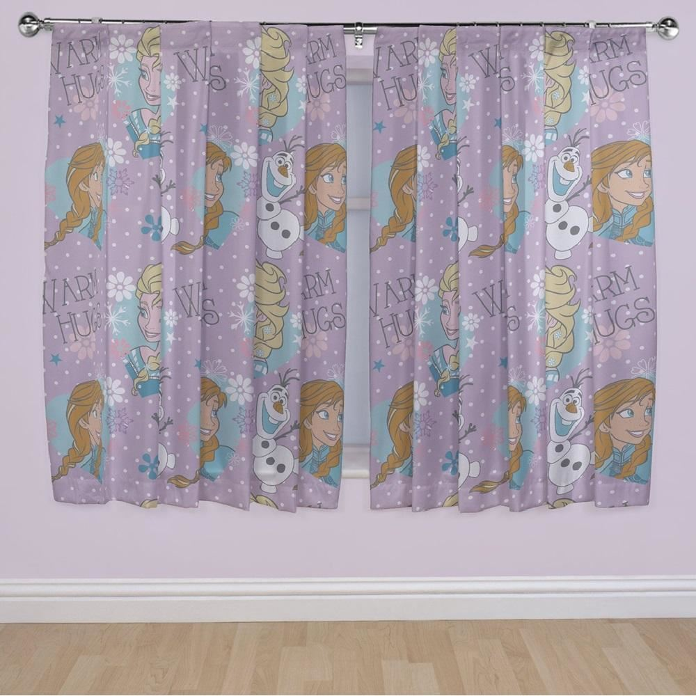Cartoon Character Theme Curtains Childrens Kids Bedroom